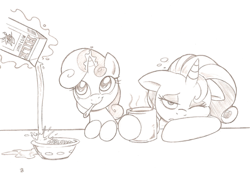 Rise and Shine by Joey-Darkmeat