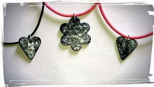 Necklaces by HelenaFlowerPower