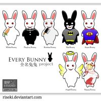 Every Bunny Project by riseki