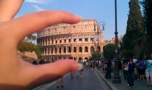 I Got the Colosseum in My Fingers by Graceful-Dragonair