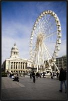 Nottingham ferris wheel IV by Wainson