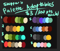 Palette Adopts 4 {CLOSED} by meteorcrash