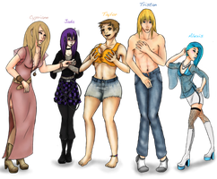WHITL Gender-Bend (download to fullview!) by Sketchymaloo