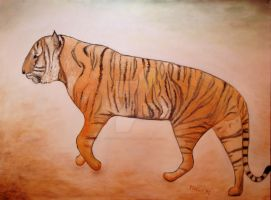 Mystic Tiger by scott-plaster