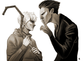 ROTG FanArt: I believe in you by NinaKask