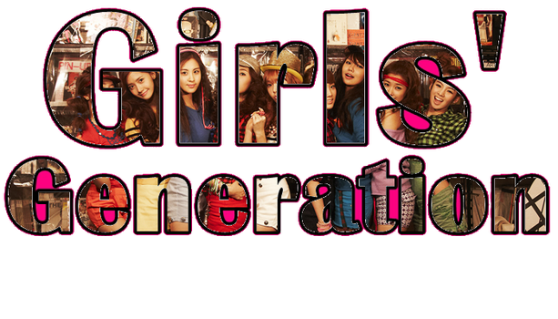 Girls' Generation (PNG) by Sone402