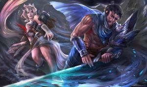 The Last Breath (Yasuo vs Riven) by Kashuse