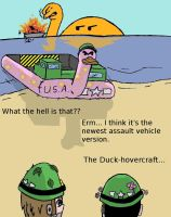 The Duck-hovercraft by 6uitar6reat6od