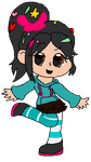 Vanellope by homosexualy