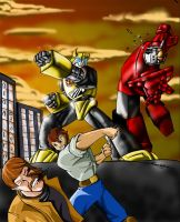 Transformers Vs GoBots: Ch 9A by Giga-Leo
