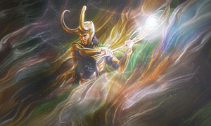Loki Smudge by Eternalesque