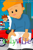 The Jellyville Poster by jellybeansoup