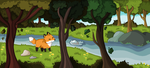Fox Forest (finished!) by Wifflin