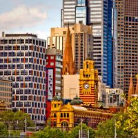 Melbourne City View by addr010