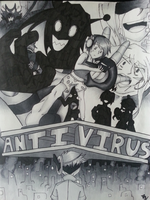 AntiVirus Cover Page by RaydieJaeger