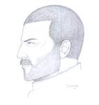 Jorge in Profile by AetheriumDreams