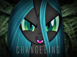 Changeling Queen Wallpaper 1024x768 by Grumbeerkopp