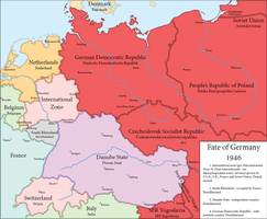 Fate of Germany 1946 by Sevgart