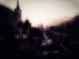 The cemetery by AlexandruGatea