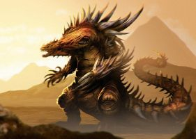 warped chaos tarrasque by unded