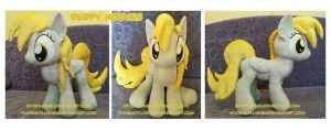 Derpy Hooves plushie by Feneksia-Creations