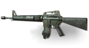MW3: M16A4 by FPSRussia123
