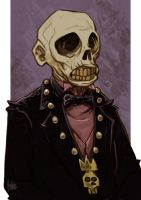 Daily Sketches Emperor Zombie by fedde