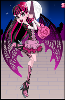 Draculaura Scaris Style by cherry-cupcakey