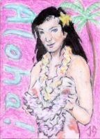 Sketch Card: Island Dreams - 6 by JasonShoemaker