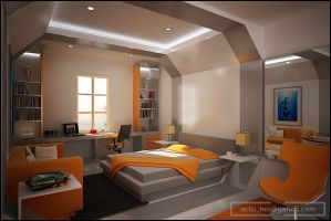 PIK bedroom by kee3d