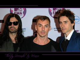 30 Seconds to Mars Wall 417 by martiansoldier