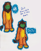 Doze Lion by Bloodstainedhowl