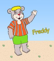 Freddy - for Fred Vegerano by The-WaxBadger