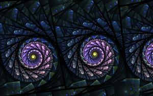 Stained Glass Flowers by riverfox1