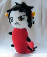 Baby Karkat Plush Commission by NocturnalEquine