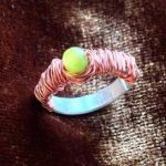 Size 6 HandCrafted Wirewrap Ring by SilenceBLEH