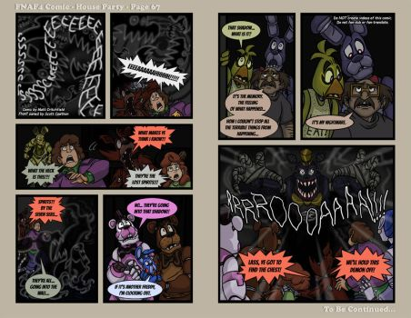 FNAF4 Comic - House Party - Page 67 - 5-14-17 by Mattartist25