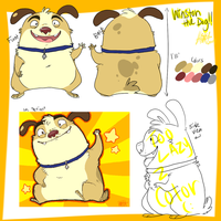 Winston The Dog Ref by hamzie