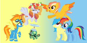 The SpitDash Family by Banana-Spiral