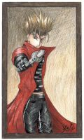 Vash the Stampede by Kaze-Chan