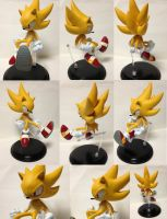 Super sonic figure by shoppaaaa