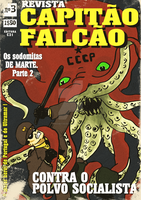 Capitao Falcao n3 Cover by prometheus31