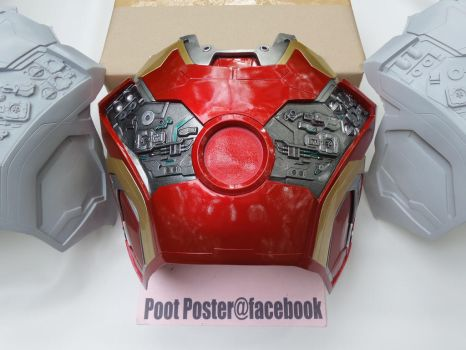 Iron man chest mark 42/43 HD details by PootPoster