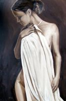 Figure in Sepia by ackers