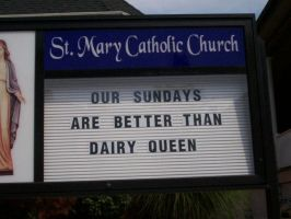 funny church sign by SOUTHAMBOYBOY
