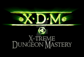 X-treme Dungeon Mastery logo by indy1725