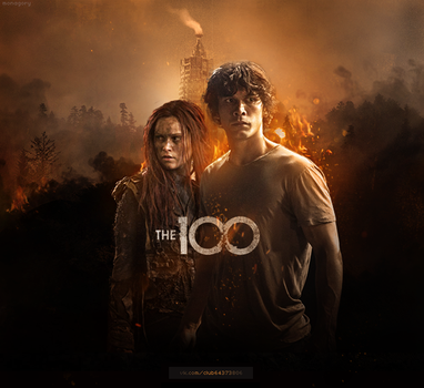 The 100 | clarke x bellamy by monagory