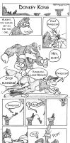 Donkey Kong Country Returns Comic by Rachet777