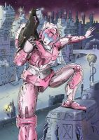 Arcee: colored by Hemachatus