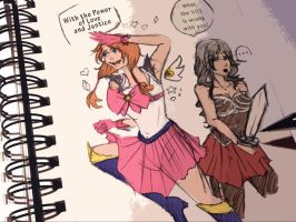 Magical girls are so..... by edogori